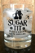 Sugar TIT Moonshine Cocktail Glass